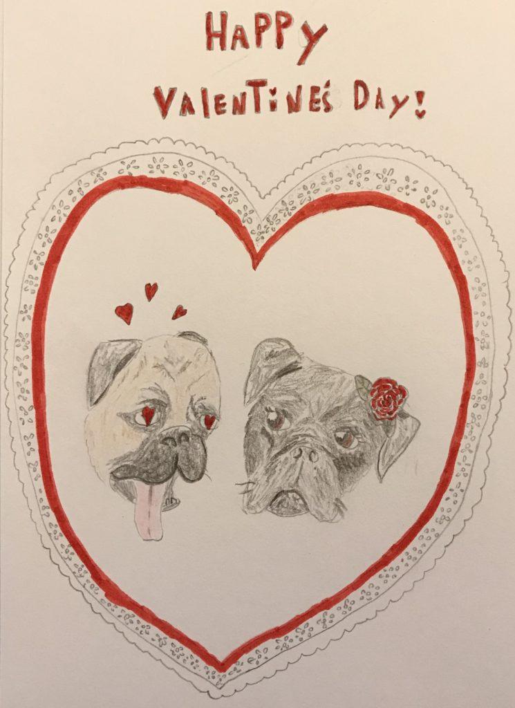 Racky and Stella Valentine's Day